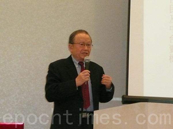 台灣投資中國受害者協會理事長高為邦,資料照。(張本真/大紀元)