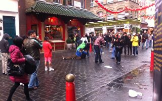 暴徒五次襲擊倫敦中國城的活摘徵簽點