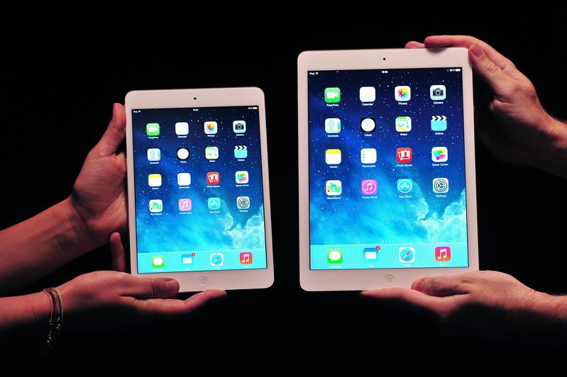 如果用戶暫時不使用iPad,最好將iPad完全關閉。(CARL COURT/AFP)