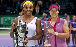 李娜连输9局被逆转 小威卫冕年终总决赛