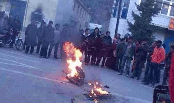 青海僧人自焚 抗議高壓民族政策第122自焚藏人