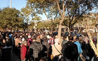 數萬人逼進北京 民怨空前 高法外武警荷槍實彈(組圖)