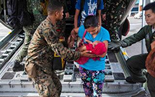 國際援助堆機場 美軍:援菲規模前所未有