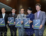 公民党立法会议员指香港精神正危在旦夕,呼吁港人守护核心价值。(蔡雯文/大纪元)