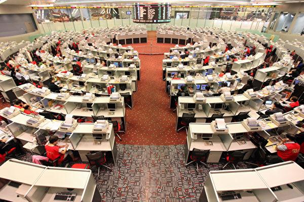 中南海各派爭奪香港金融中心