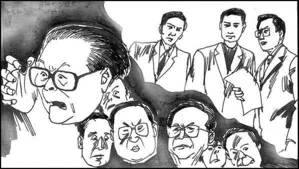 江與羅干串通 1999年4.26政治局會議內幕