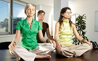 引进静坐冥想助减压 企业文化不变效果有限