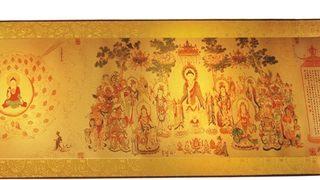 黃金國寶《千佛圖》 臺灣限量發行