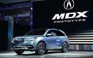 豪华SUV:2014 Acura MDX