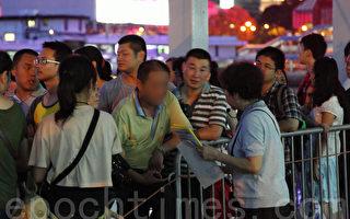 千萬大陸客聖誕新年湧香港 互問「你退了嗎?」
