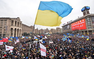 烏克蘭示威者 佔領了基輔市政廳