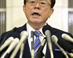日本媒体报导,东京都知事猪濑直树在收取医疗业者5000万日圆情事曝光后,19日辞职下台。 (共同社提供)