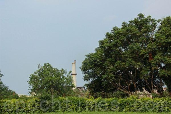 中兴文创园区 开发面积约20公顷。(谢月琴/大纪元)