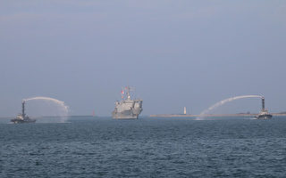 帛琉賑災  台海軍中和艦返高雄