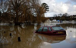 聖誕節 英國南部遭遇洪水、停電