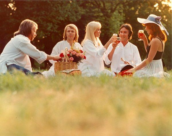 70年代流行天團ABBA(阿巴合唱團)。(台北電影節提供)