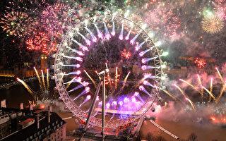世界知名烟花秀 各地欢喜过新年