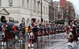 組圖:倫敦新年大遊行 今年我們愛馬