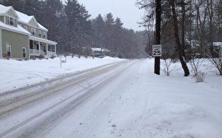 新年首场暴风雪袭美  中西与东北部罕见低温