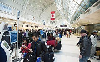 酷寒! 数千乘客滞留多伦多国际机场
