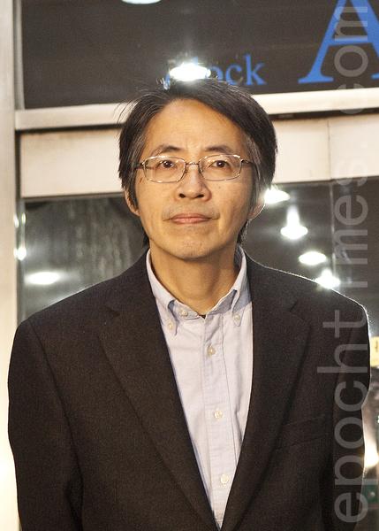 被指要被撤换的《明报》总编辑刘进图(余钢/大纪元)