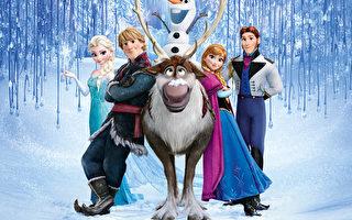 《冰雪奇缘》夺金球最佳动画 将进百老汇