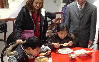 山东饺子馆 寒假提供学生爱心水饺