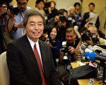 退出政壇15年的前日相細川護熙,22日宣布參選東京都知事。(Yoshikazu TSUNO/AFP)