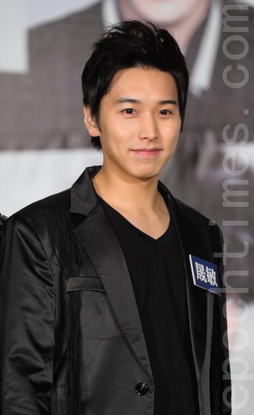 Super Junior成员:晟敏。(宋碧龙/大纪元)