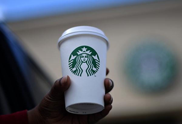 正牌星巴克咖啡杯(JEWEL SAMAD/AFP/Getty Images)