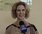 Stephanie Holman觀賞了2月1日下午,神韻紐約藝術團在佛州勞德代爾堡的布勞沃德表演藝術中心的演出。(新唐人視頻截圖)