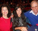 房地產老闆Judy Rubin和家人一起觀看了神韻演出。(蕭財英/大紀元)