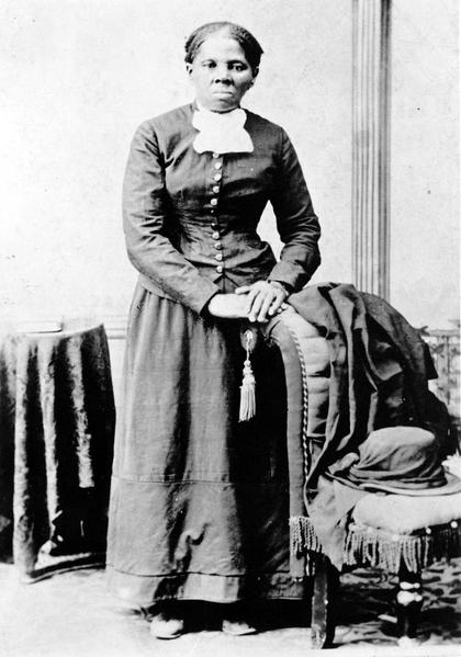 废奴主义运动家哈莉特•塔布曼(维基百科公共领域)