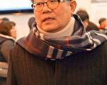 韩国大田议会议长郭泳教在受访时表示,神韵以配合完美的新颖演出、衔接完美的动态天幕,宏大而细致地展现中国古典文化,风靡全球是当然的事情。(金国焕/大纪元)