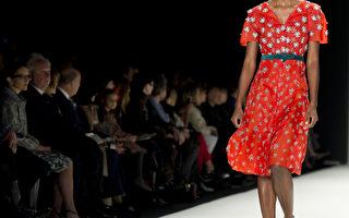 组图:纽约时装周 海莱娜时装摩登优雅