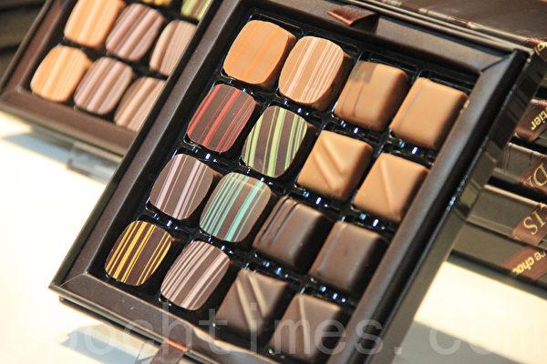 國際著名的巧克力沙龍(Salon du Chocolat)於2月7-9日在布魯塞爾的Taxi & Tour展覽廳舉行了比利時的首次展覽。(方海冬/大紀元)