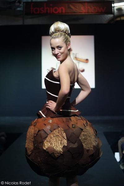 國際著名的巧克力沙龍(Salon du Chocolat)於2月7-9日在布魯塞爾的Taxi & Tour展覽廳舉行了比利時的首次展覽。(主辦方提供) 