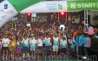 香港马拉松热爆全城 各国选手组团出战