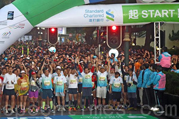 香港馬拉松熱爆全城 各國選手組團出戰