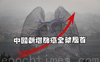 陸新增肺癌全球居首 民指陰霾污染是主因