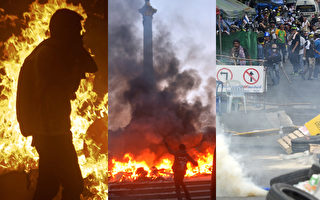 烏克蘭 委內瑞拉 泰國暴力抗議升溫 全球關注