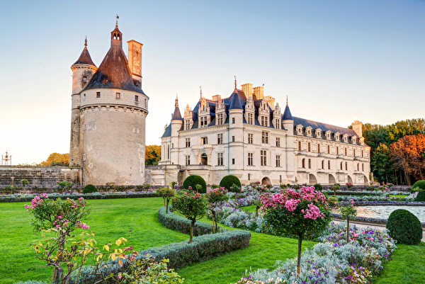 """雪侬梭城堡又被称为""""贵妇城堡""""。(Fotolia.com)"""