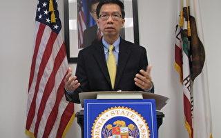 反SCA5种族平权案 加州华人攻下周本立