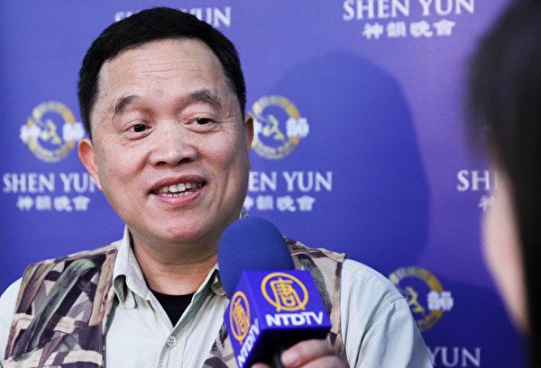 小狼多奇有限公司董事長徐鴻煥。(白川/大紀元)