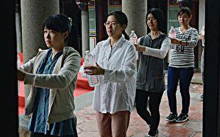 台北孔庙春祭  馔生特训累坏了