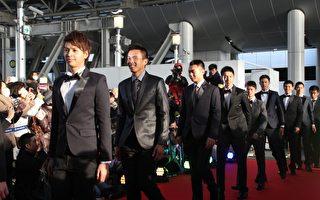 大阪电影节开幕 《KANO》球员帅气登红毯