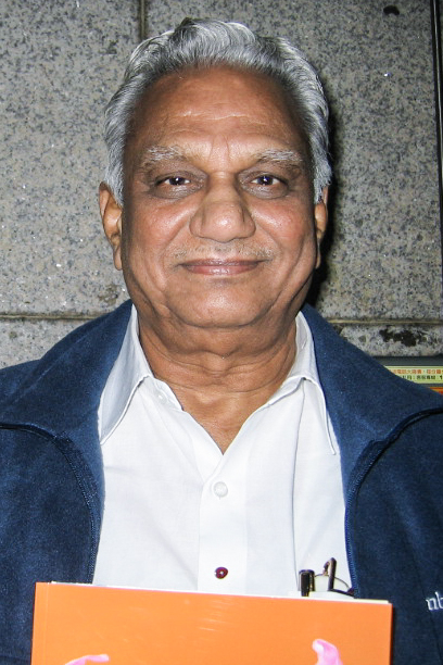 印度Choice軟件有限公司總裁G.Satyanarayana3月8日觀賞神韻國際藝術團在基隆文化中心的演出。(鄭心慈/大紀元)