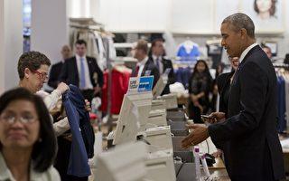 装不懂刷卡机 奥巴马讽老布希