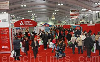 糖尿病健康博覽會 吸引上萬觀眾