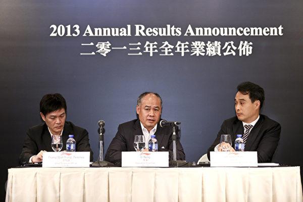 运动品牌李宁去年全年亏损3亿9154万元人民币,年收入较去年同期下跌12.8%。(余钢/大纪元)